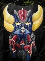 thème Mangas sur BLASER cuir et hommage à Go Nagai